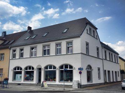 Saniert nach Vorgabe der Denkmalschutzbehörde im erweiterten Altstadtkern von Spremberg