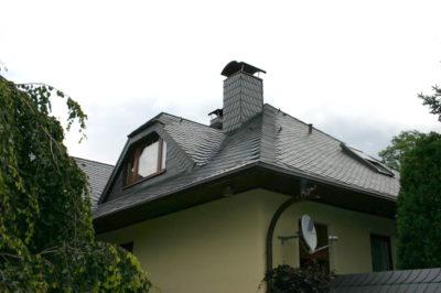 Wohnhaus mit Naturschiefereindeckung
